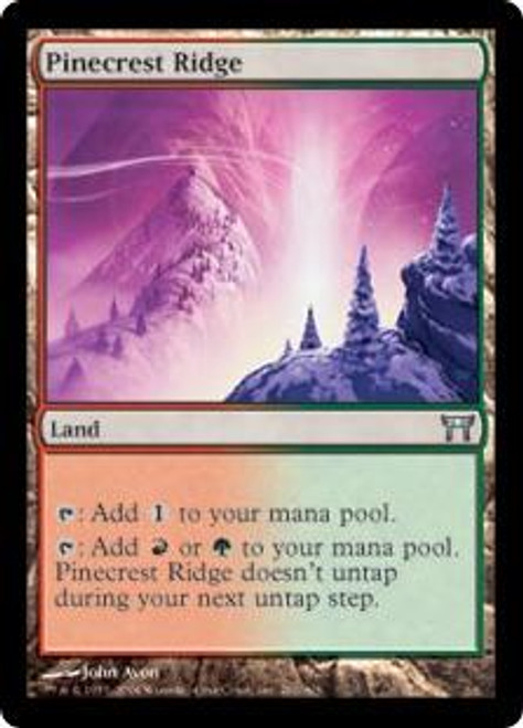 MtG Champions of Kamigawa Uncommon Pinecrest Ridge #281