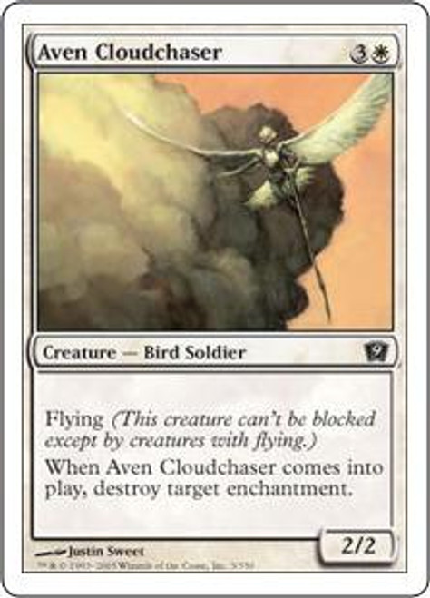 MtG 9th Edition Common Aven Cloudchaser #3