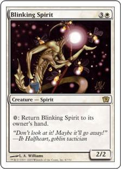 MtG 9th Edition Rare Blinking Spirit #8