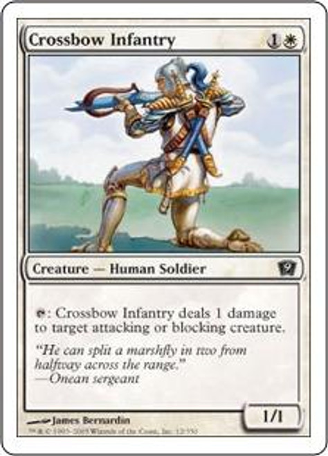 MtG 9th Edition Common Crossbow Infantry #12