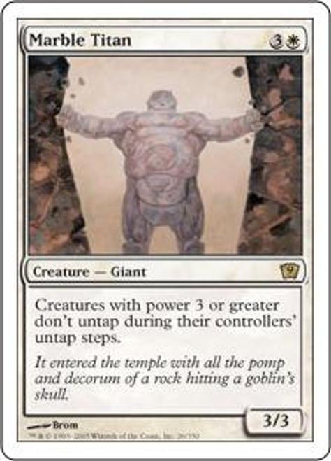 MtG 9th Edition Rare Marble Titan #26
