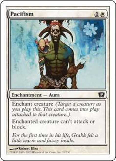 MtG 9th Edition Common Pacifism #31