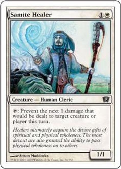 MtG 9th Edition Common Samite Healer #39