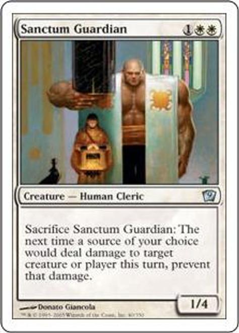 MtG 9th Edition Uncommon Sanctum Guardian #40