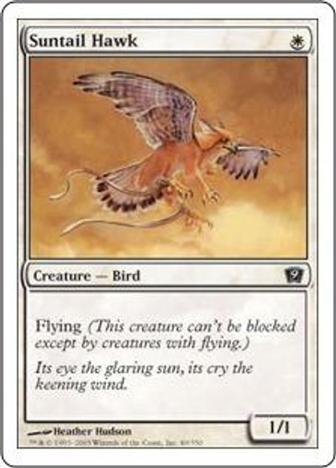 MtG 9th Edition Common Suntail Hawk #49