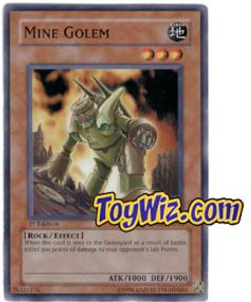 YuGiOh The Lost Millennium Common Mine Golem TLM-EN018