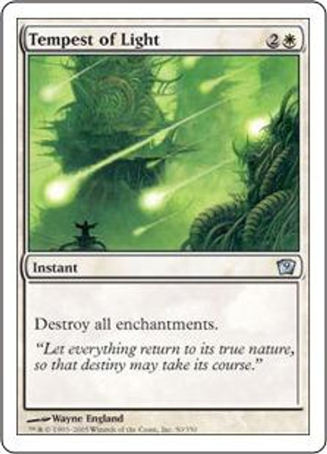 MtG 9th Edition Uncommon Tempest of Light #50
