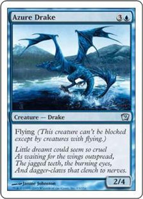 MtG 9th Edition Uncommon Azure Drake #63