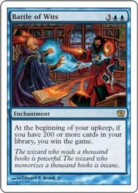 MtG 9th Edition Rare Battle of Wits #65