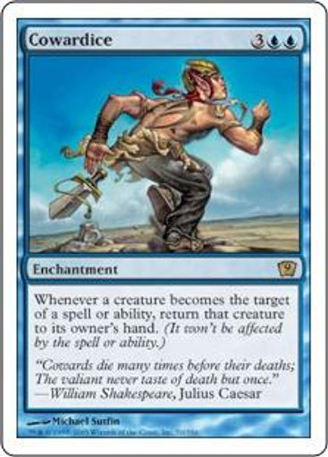 MtG 9th Edition Rare Cowardice #70