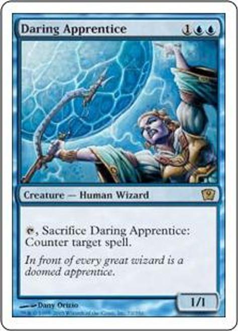 MtG 9th Edition Rare Daring Apprentice #72