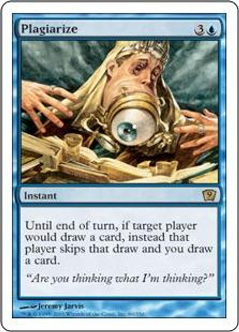 MtG 9th Edition Rare Plagiarize #89