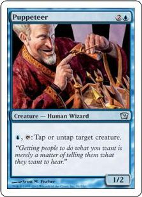 MtG 9th Edition Uncommon Puppeteer #91