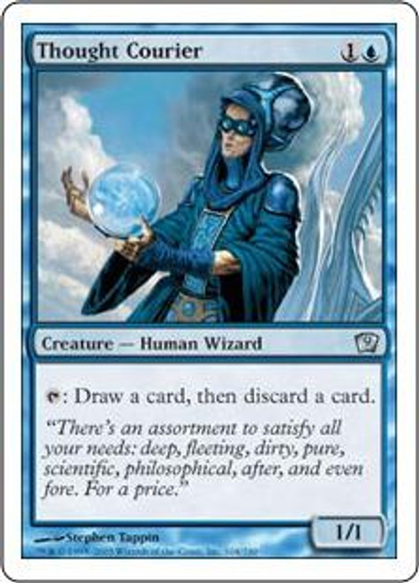 MtG 9th Edition Uncommon Thought Courier #104