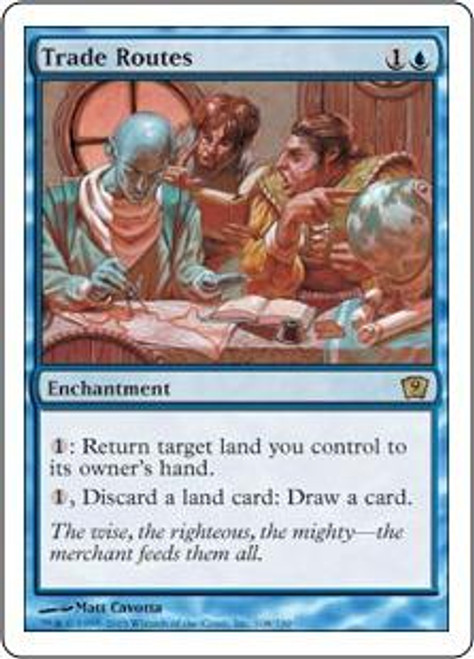 MtG 9th Edition Rare Trade Routes #108