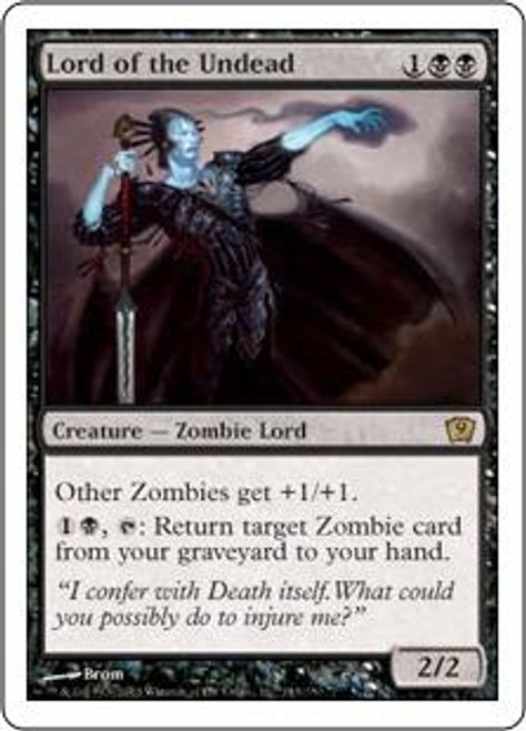 MtG 9th Edition Rare Lord of the Undead #143