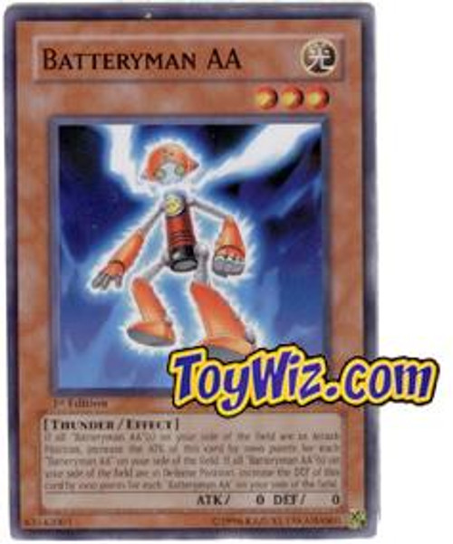YuGiOh The Lost Millennium Common Batteryman AA TLM-EN030