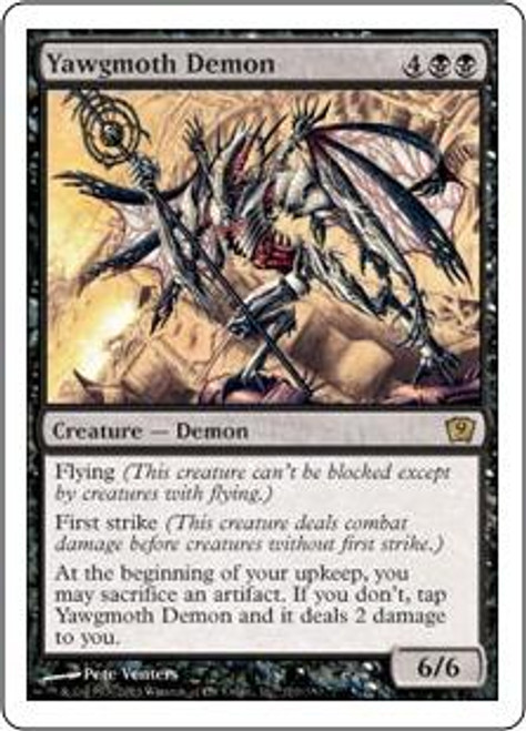 MtG 9th Edition Rare Yawgmoth Demon #170