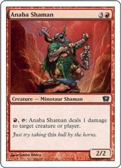 MtG 9th Edition Common Anaba Shaman #172
