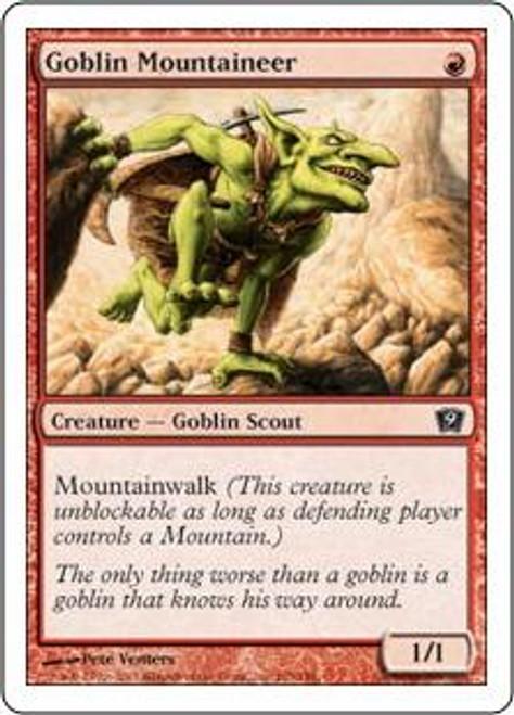 MtG 9th Edition Common Goblin Mountaineer #193