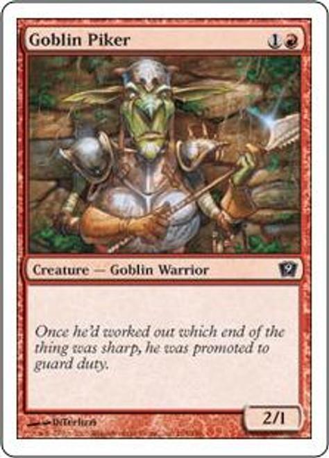 MtG 9th Edition Common Goblin Piker #194
