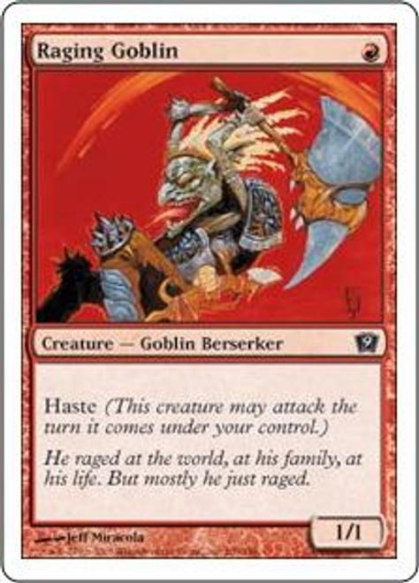 MtG 9th Edition Common Raging Goblin #209