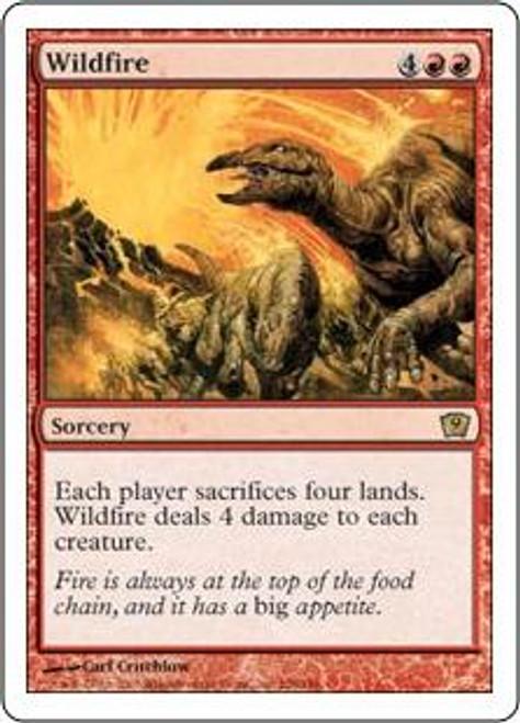 MtG 9th Edition Rare Wildfire #228