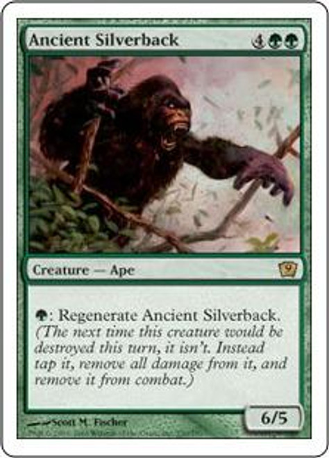 MtG 9th Edition Rare Ancient Silverback #230