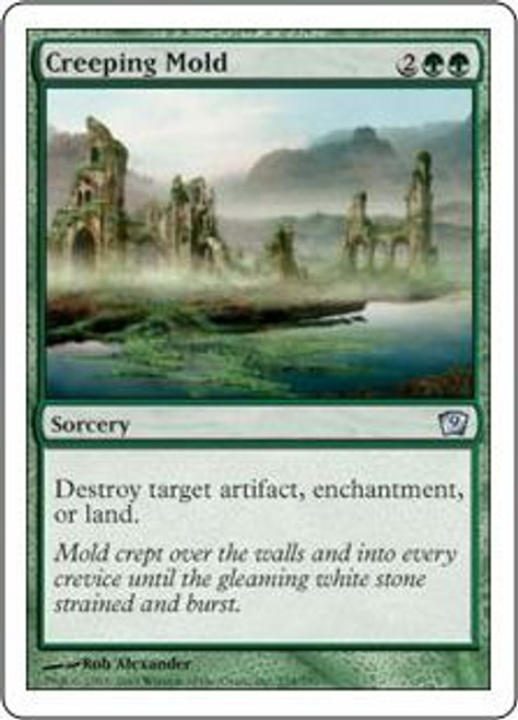MtG 9th Edition Uncommon Creeping Mold #234