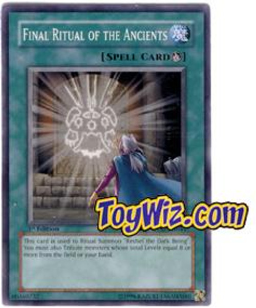 YuGiOh The Lost Millennium Common Final Ritual of the Ancients TLM-EN044