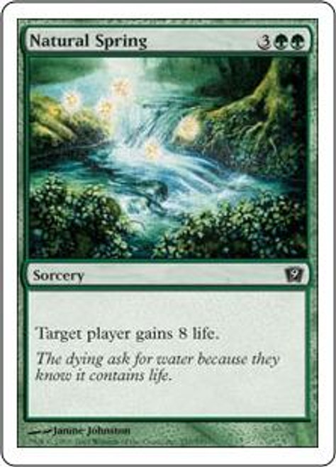 MtG 9th Edition Common Natural Spring #257