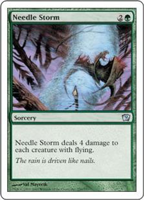 MtG 9th Edition Uncommon Needle Storm #259