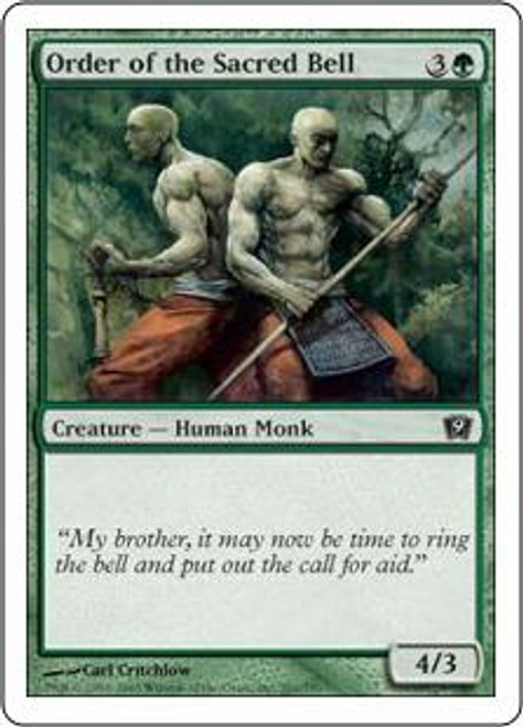 MtG 9th Edition Common Order of the Sacred Bell #261