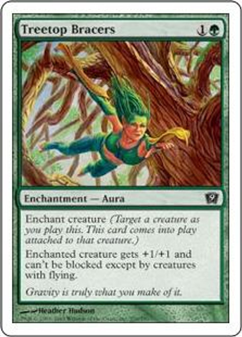 MtG 9th Edition Common Treetop Bracers #276