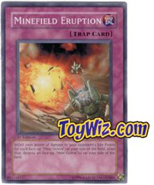 YuGiOh The Lost Millennium Common Minefield Eruption TLM-EN051