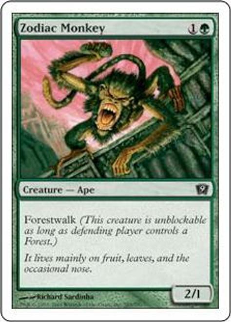 MtG 9th Edition Common Zodiac Monkey #285