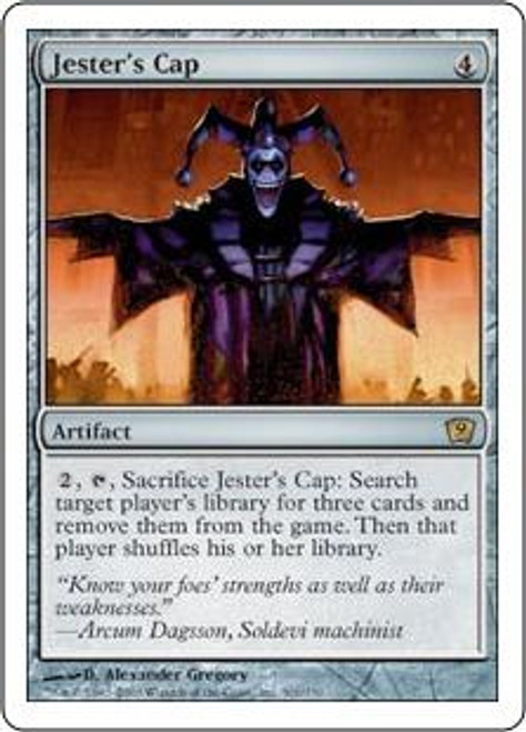 MtG 9th Edition Rare Jester's Cap #301
