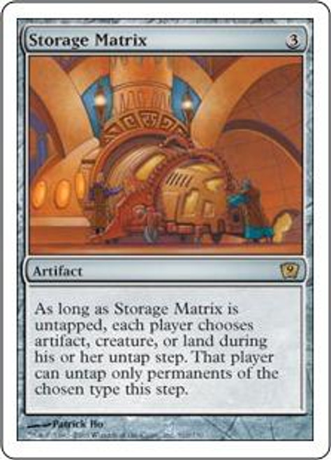 MtG 9th Edition Rare Storage Matrix #310