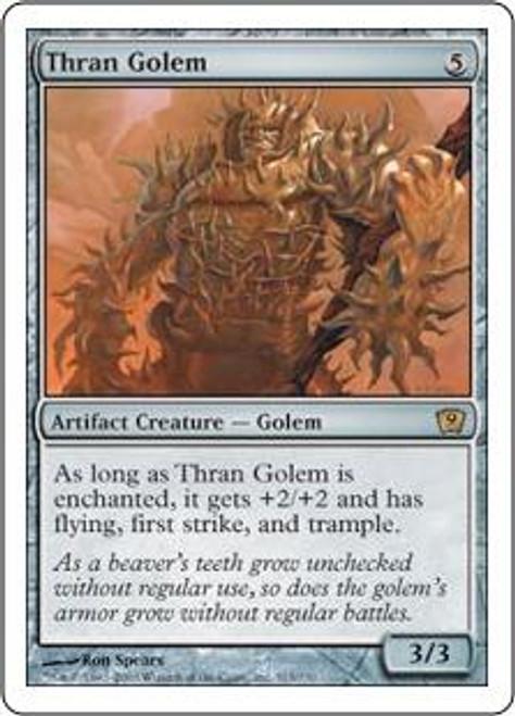 MtG 9th Edition Rare Thran Golem #313