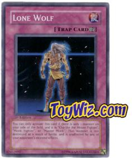 YuGiOh The Lost Millennium Common Lone Wolf TLM-EN060