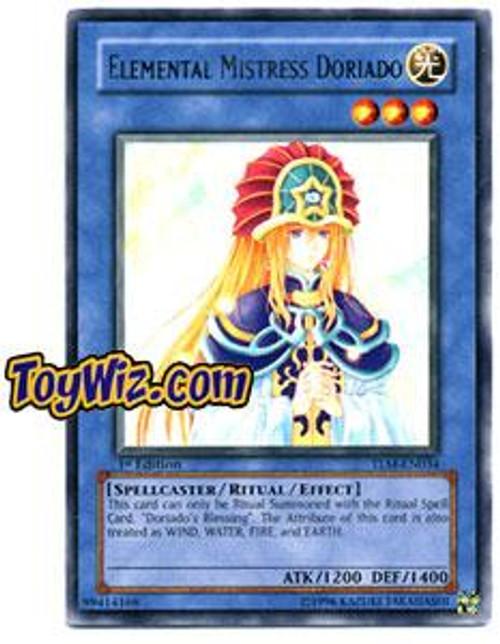 YuGiOh The Lost Millennium Rare Elemental Mistress Doriado TLM-EN034