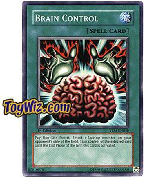 YuGiOh The Lost Millennium Super Rare Brain Control TLM-EN038