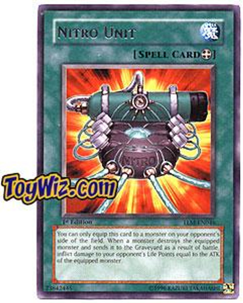 YuGiOh The Lost Millennium Rare Nitro Unit TLM-EN046