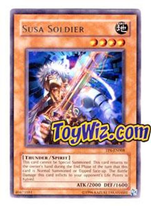 YuGiOh Tournament Pack 6 Rare Susa Soldier TP6-EN008