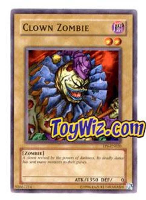 YuGiOh Tournament Pack 6 Common Clown Zombie TP6-EN020