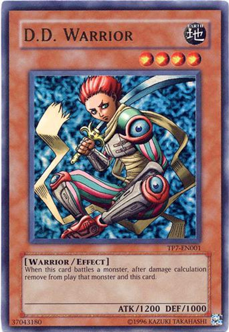 YuGiOh Tournament Pack 7 Ultra Rare D.D. Warrior TP7-EN001