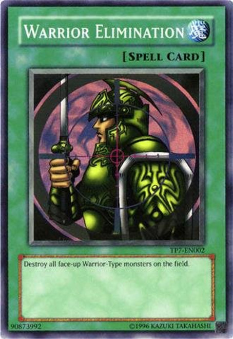 YuGiOh Tournament Pack 7 Super Rare Warrior Elimination TP7-EN002
