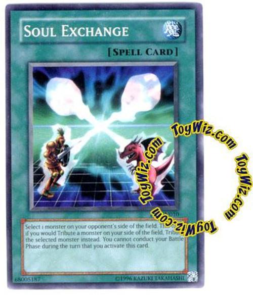 YuGiOh Tournament Pack 7 Common Soul Exchange TP7-EN010