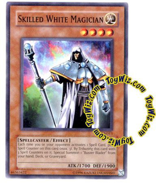 YuGiOh Tournament Pack 7 Common Skilled White Magician TP7-EN013