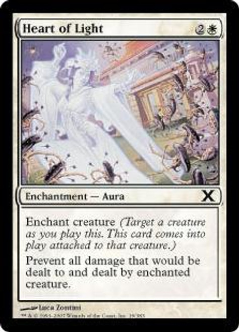 MtG 10th Edition Common Heart of Light #19